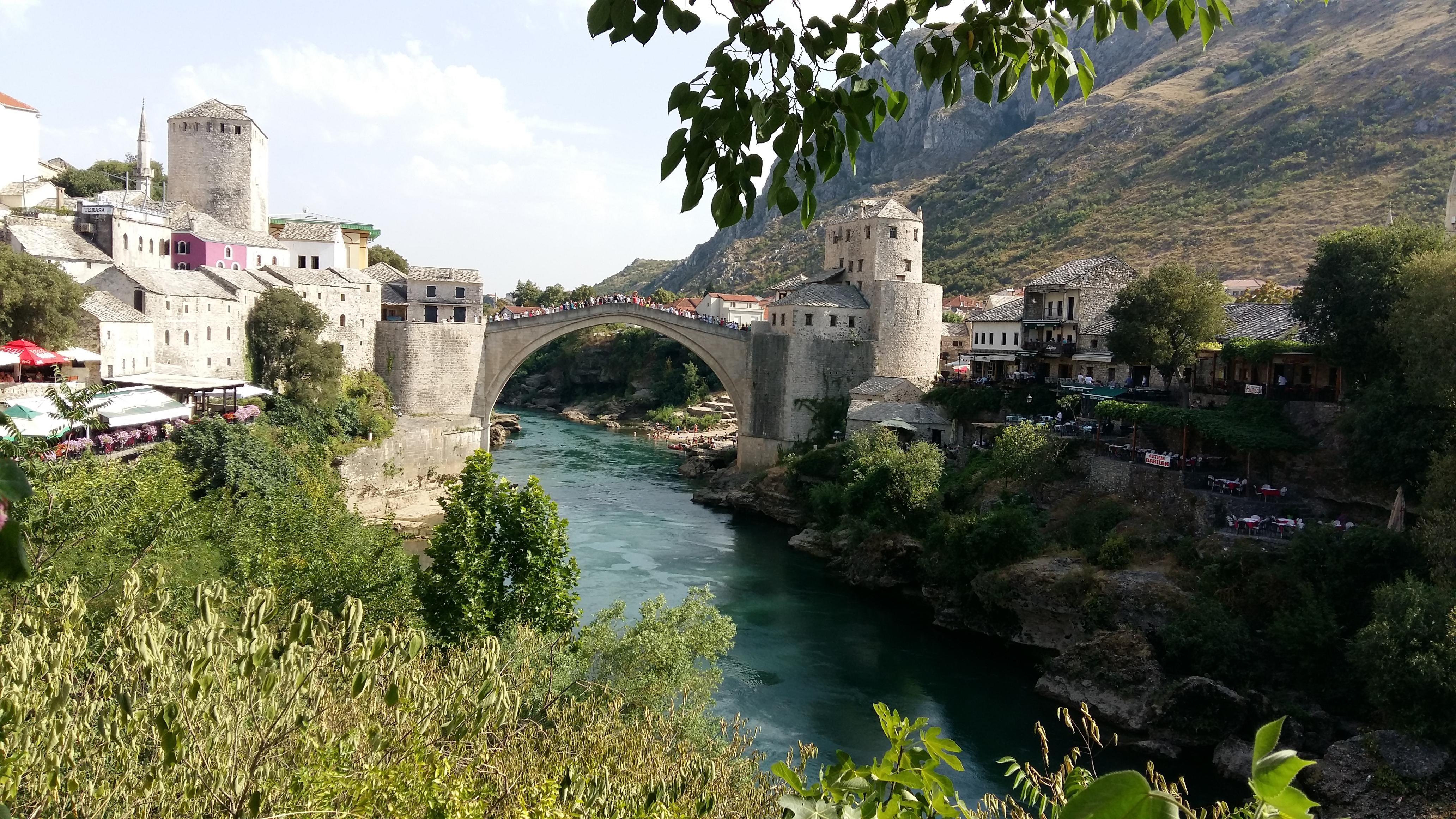 Visite de Mostar