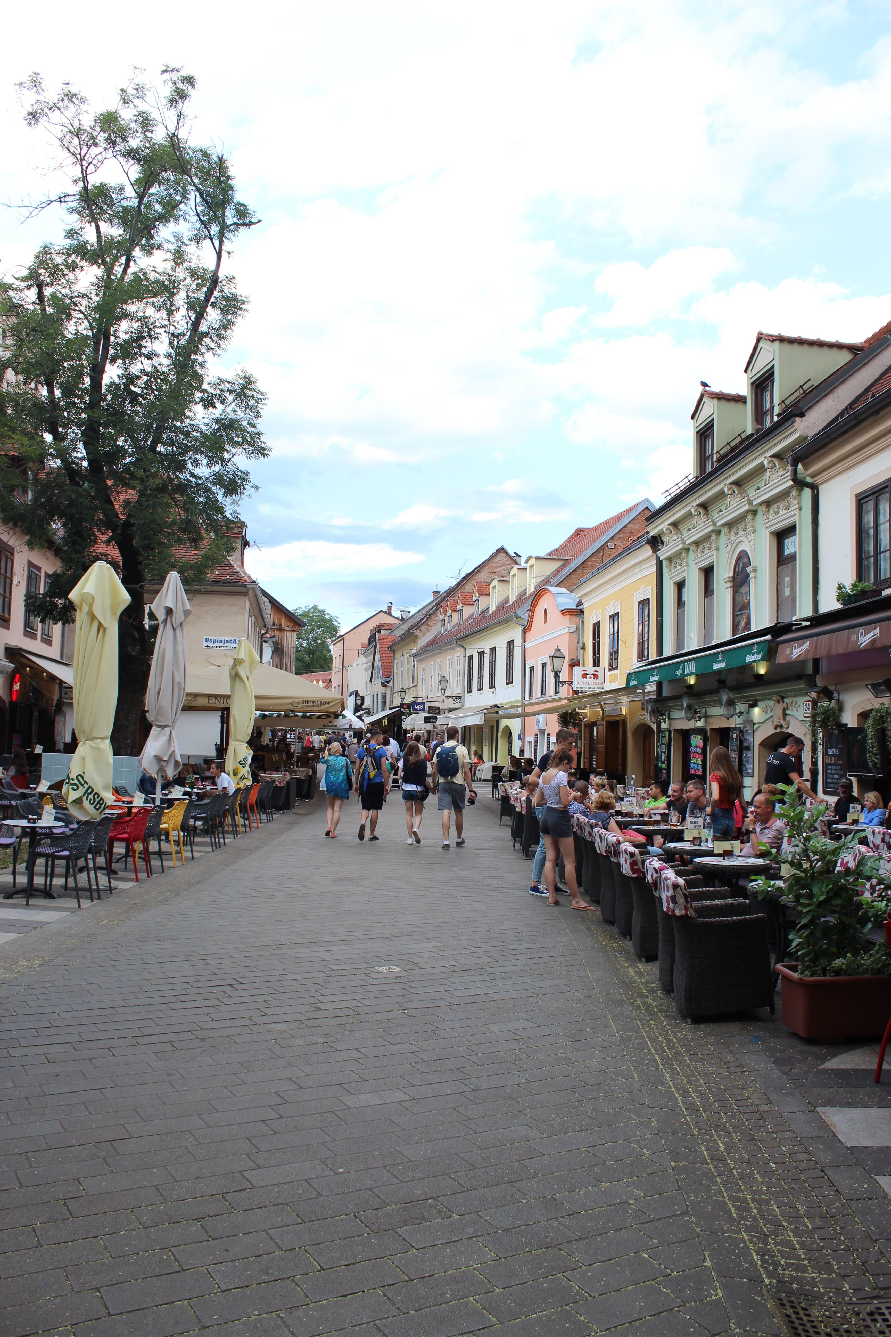 Une soirée à Zagreb