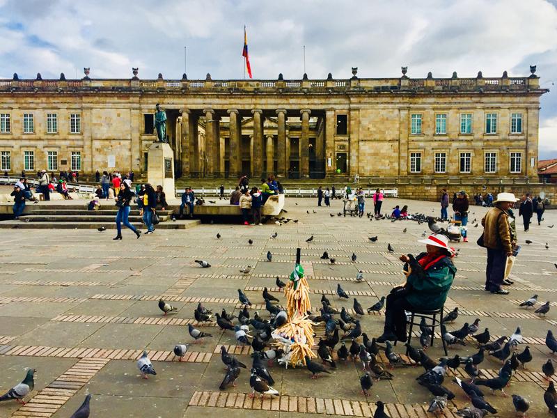Colombie : visite de Bogotá