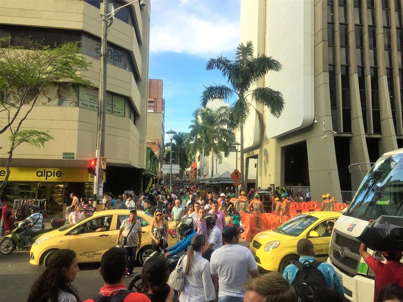 Colombie : visite de Medellín