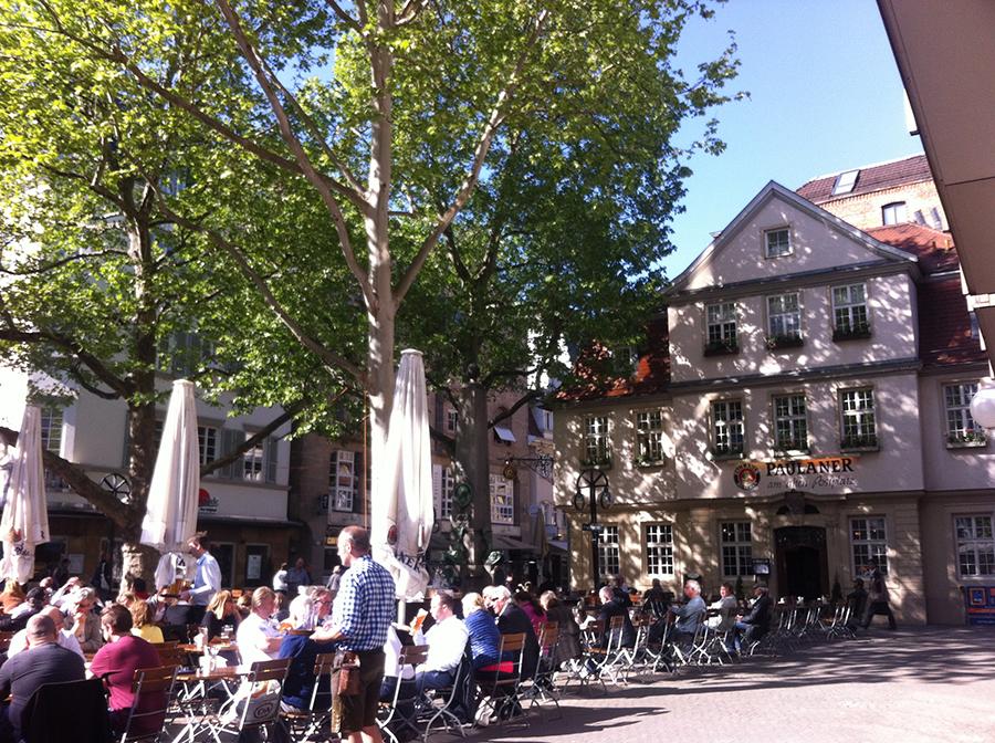 Séjour à Stuttgart