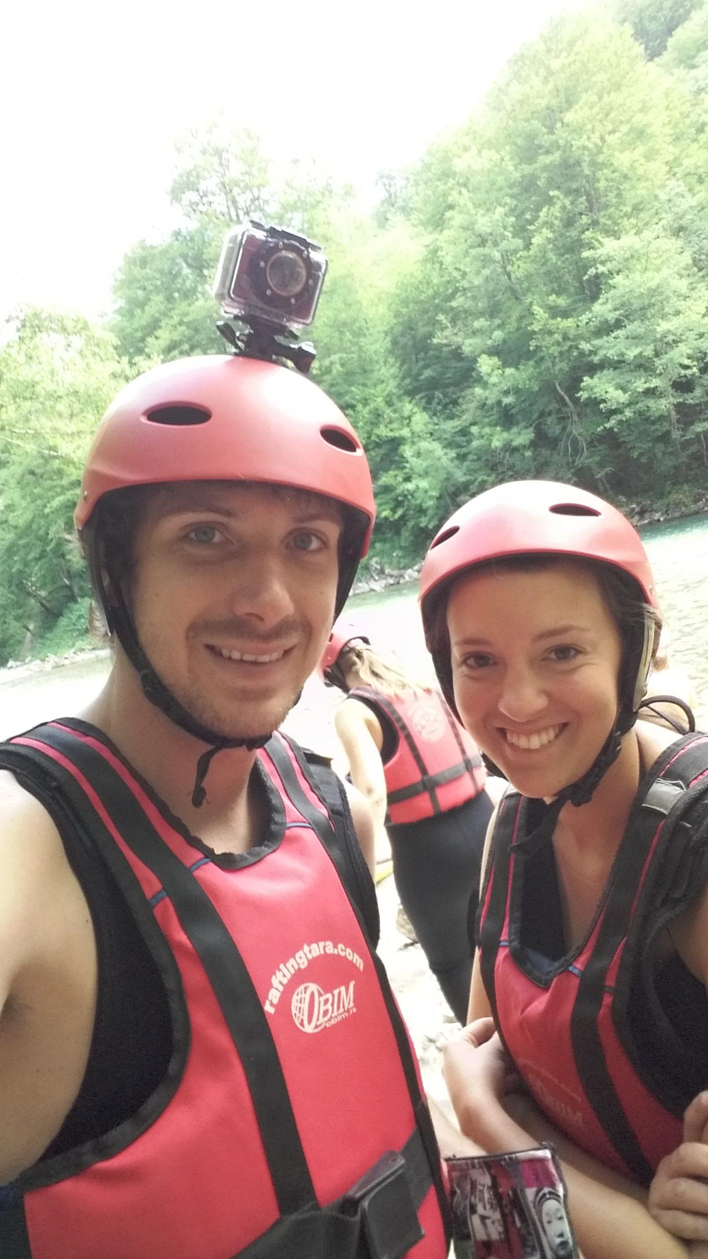 Rafting dans le Canyon Tara au Monténégro