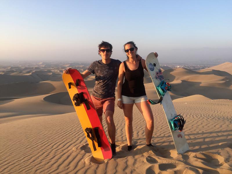 Pérou : Buggy & Sandboarding à Huacachina